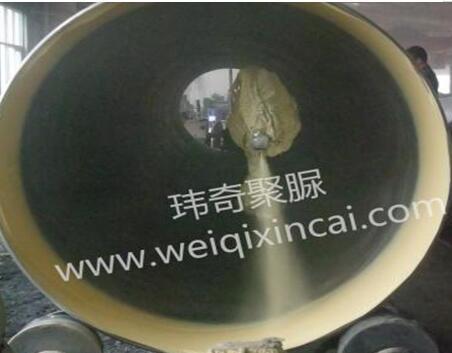 金美亚钢管内外壁聚脲防腐工程