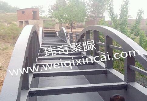 济南市市中区2013年度高标准农田 建设项目三标段渡槽聚脲防